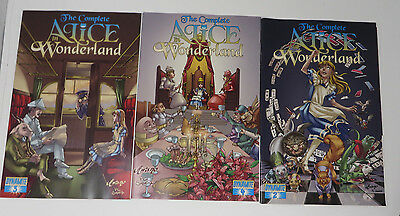 The Complete ALICE in WONDERLAND Dynamite Comic Issues 2 3 4 Lot 3 VGC