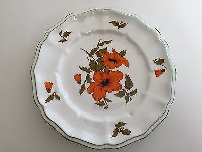 "Crown Staffordshire England Fine Bone China ""Camelot"" Salad Plate, 8 1/2"" D"