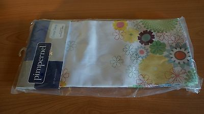 Portmeirion/pimpernel - Set Of 4 Napkins (Large) - Crazy Daisy - New With Tags