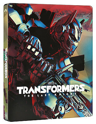 TRANSFORMERS: L'Ultimo Cavaliere - STEELBOOK EDITION (2 BLU-RAY) Mark Wahlberg