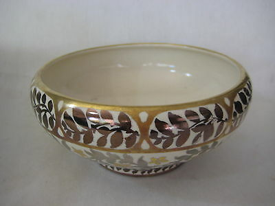 Old Antique Japanese Handpainted Bowl, Christening April 1, 1923, H.m.s To H.m.s