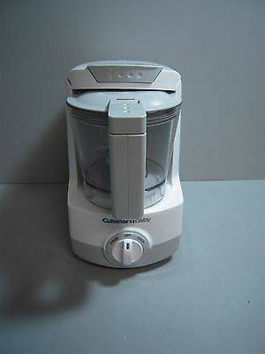 Cuisinart Baby Food Maker and Bottle Warmer w/ Food Storage Containers BFM-2STPC