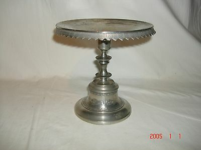 Vintage Reed & Barton Silver Plate Compote w/American Indian Motif