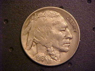 1916-D Buffalo Nickel - Very Nice Choice Bu! - Better/key Date! -