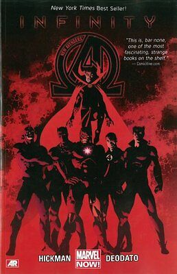 New Avengers Volume 2: Infinity (marvel Now) by Jonathan Hickman 9780785166627