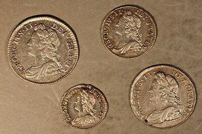 1746 Great Britain Maundy Set Nice Matched Higher Grade ** Free U.S. Shipping **