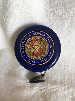 Singer Sewing Machines Tape Measure 100 Yr Anniversary Century of Sewing Service