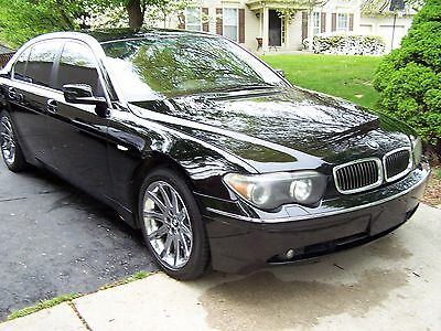 2002 BMW 7-Series iL 2002 BMW 745iL