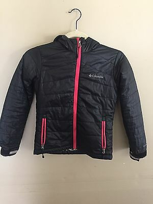 Columbia Hooded Jacket, Omni-heat, EUC! Girls size 7-8.