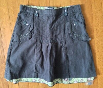 KID'S GRAFFITI girls Floral Embroidered Cotton Skirt 14 Years *NWT*