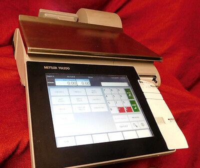 NO PASSWORDs! Mettler Toledo Scale Impact Pact M Scale & Printer CLEANED! #758