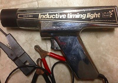 Sears / Craftsman Inductive Dc Timing Light 244 213801