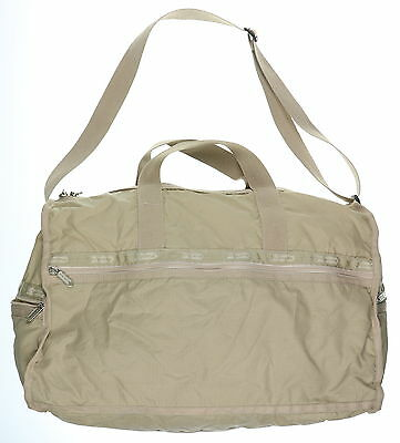 Women's LE SPORTSAC Beige Small Hand Bag Inside Carry On Duffel Bag Size M