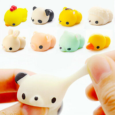 Anti Stress Pig Soft Reliever Ball Autism Mood Squeeze Toy Kids Xmas Gifts New