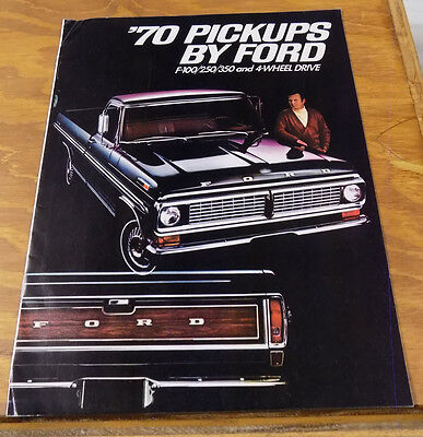 1970 Vehicle Brochure///PICKUPS BY FORD