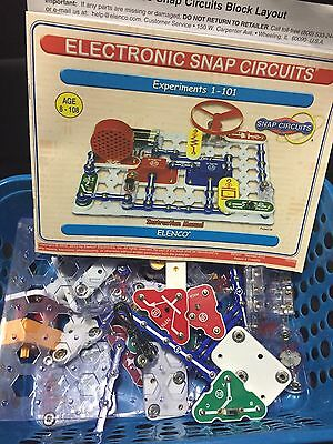 Large Lot 2lbs SNAP CIRCUITS Boards Books Educational Science Toy Free Shipping