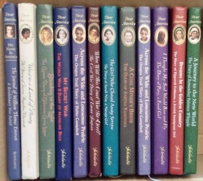Lot of 12 Dear America series hardcovers