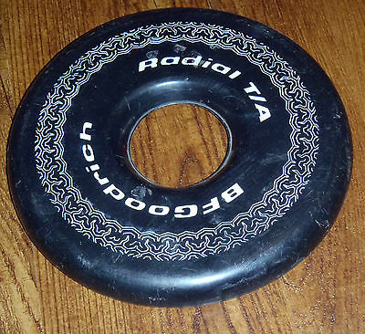 =1980's BF GOODRICH = RADIAL T/A = TIRE = FRISBEE-LIKE FLYING DISC =RARE VINTAGE