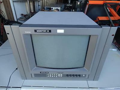 "Sony PVM-14L2 14"" Inch Color Video Trinitron Monitor w/ Brackets"