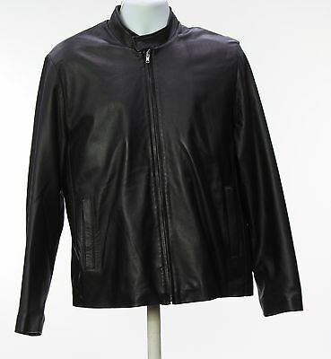 Men's BARNEYS NEW YORK Black Long Sleeve Basic Jacket Size L