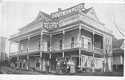 Vintage Postcard Southern Hotel Hot/cold Pluto Water French Lick Springs 1916 In