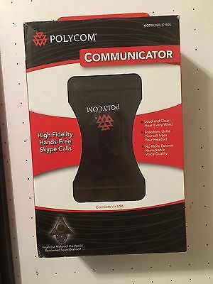 Polycom Communicator  (C100S / 2200-44040-001) Grey Skype USB Speakerphone