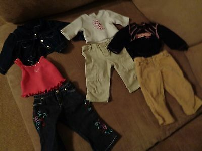 Lot American Girl Doll Clothes  18""