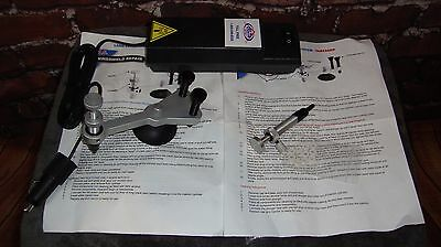 Windshield repair set, Long crack injector, Chip injector & Curing Light