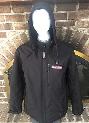 Craftsman 12v Men's Heated Hooded Jacket Coat Large #B J #2