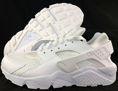 Nike Air Huarache Triple White White Pure Platinum 318429-111 Men's 8