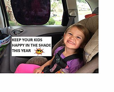 Baby Car Sun Shades for Side Window  Kids Sun Shade Protection/ Static Cling