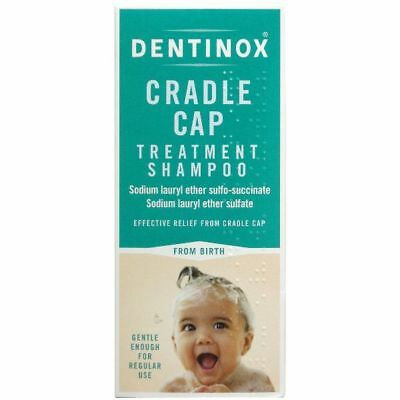 Dentinox Cradle Cap Baby Shampoo 125ml