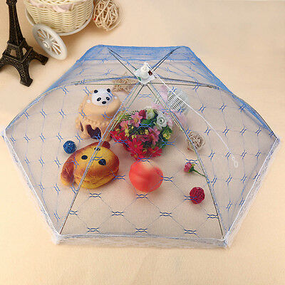 Kitchen Food Umbrella Cover Picnic Barbecue Party Fly Mosquito Mesh Net Tent