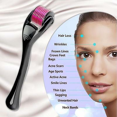 0.5mm-3.0mm 540 Microneedle Scars Derma Roller Micro Needles Skin Therapy Care