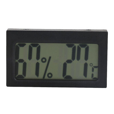 Small Size Embedded Wall Digital LCD Thermometer Hygrometer Humidity Temp Meter