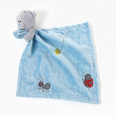 NEW Me To You Tiny Tatty Teddy Boy Blue Comforter Plush Bear Security Blanket