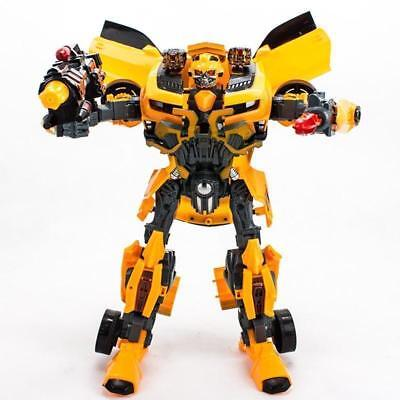 New  BIG Transformers Bumblebee Roboter Auto ACTION FIGURE Generation 4 COOL toy