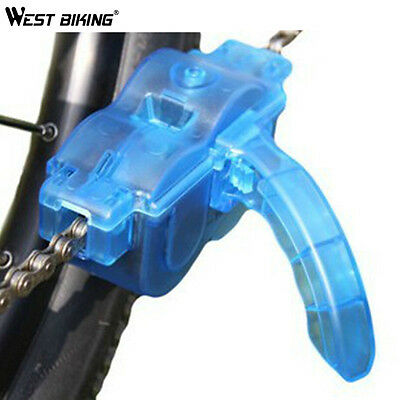 Bicycle Chain Cleaner Cycling Repair Machine Brushes Scrubber Wash Tool