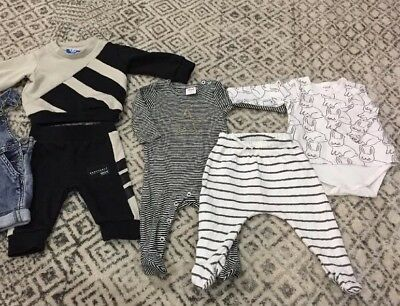 Baby Boy Clothing Bundle Including Industrie, Adidas and Seed
