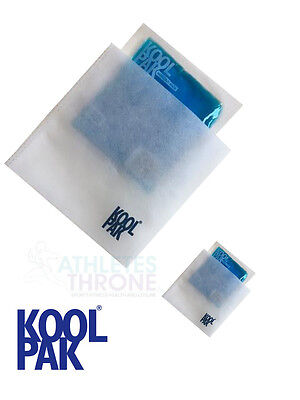 Koolpak Small Reusable Hot/Cold Sports Ice Gel Pack First Aid Muscle Pain X 2