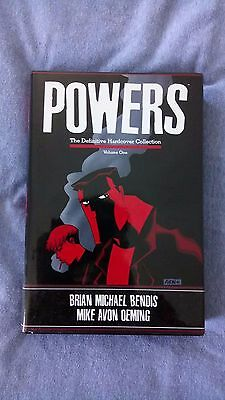 Powers Definitive Hardcover Volume 1 By Brian Bendis and Mike Avon Oeming