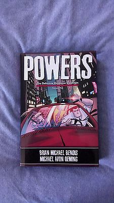 Powers Definitive Hardcover Volume 2 By Brian Bendis and Mike Avon Oeming