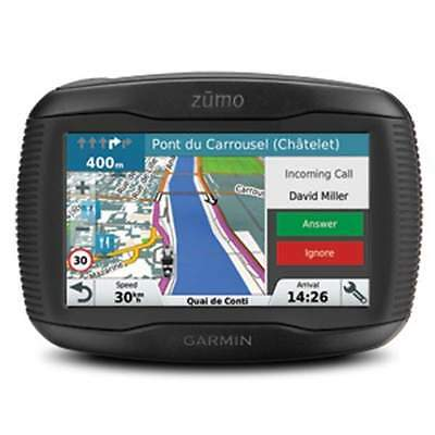 GARMIN ZUMO 345 LM UK & Western Europe Maps Motorcycle Sat Nav Biker Navigation