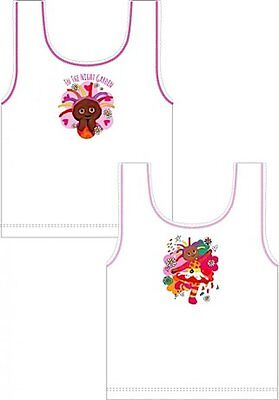 Girls '2 in a pack' vests Minnie Birds the Word In the Night Garden