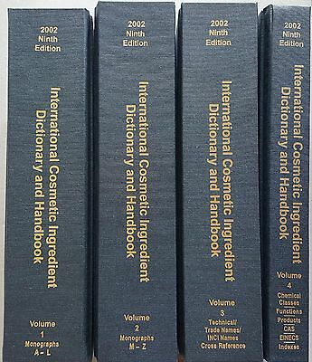 International Cosmetic Ingredient Dictionary and Handbook, Ninth Edition, 2002