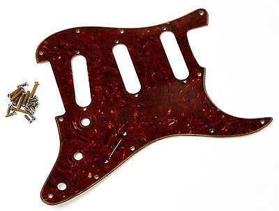 Aged Real Celluloid 64 SC Pickguard Limited Montreux Retrovibe Fits to Strat ®