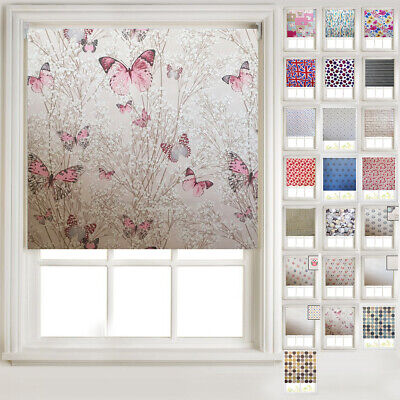 Patterned Thermal Blackout Roller Blinds - 20+ Designs, Metal Tube & Fittings