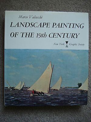Landscape Painting of the 19th Century by Marco Valsecchi (1971, Hardcover)