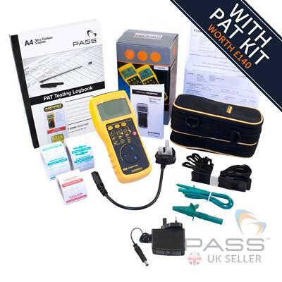 *SALE* Martindale HPAT500 HandyPAT Manual PAT Tester+FREE Accessories worth £140