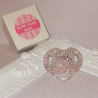 Swarovski Bling Dummie - Dummy / Soother And Pacifier ADVENT 0-6months